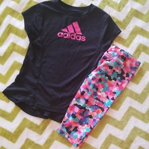 Adidas Athletic Outfit Size 24 months